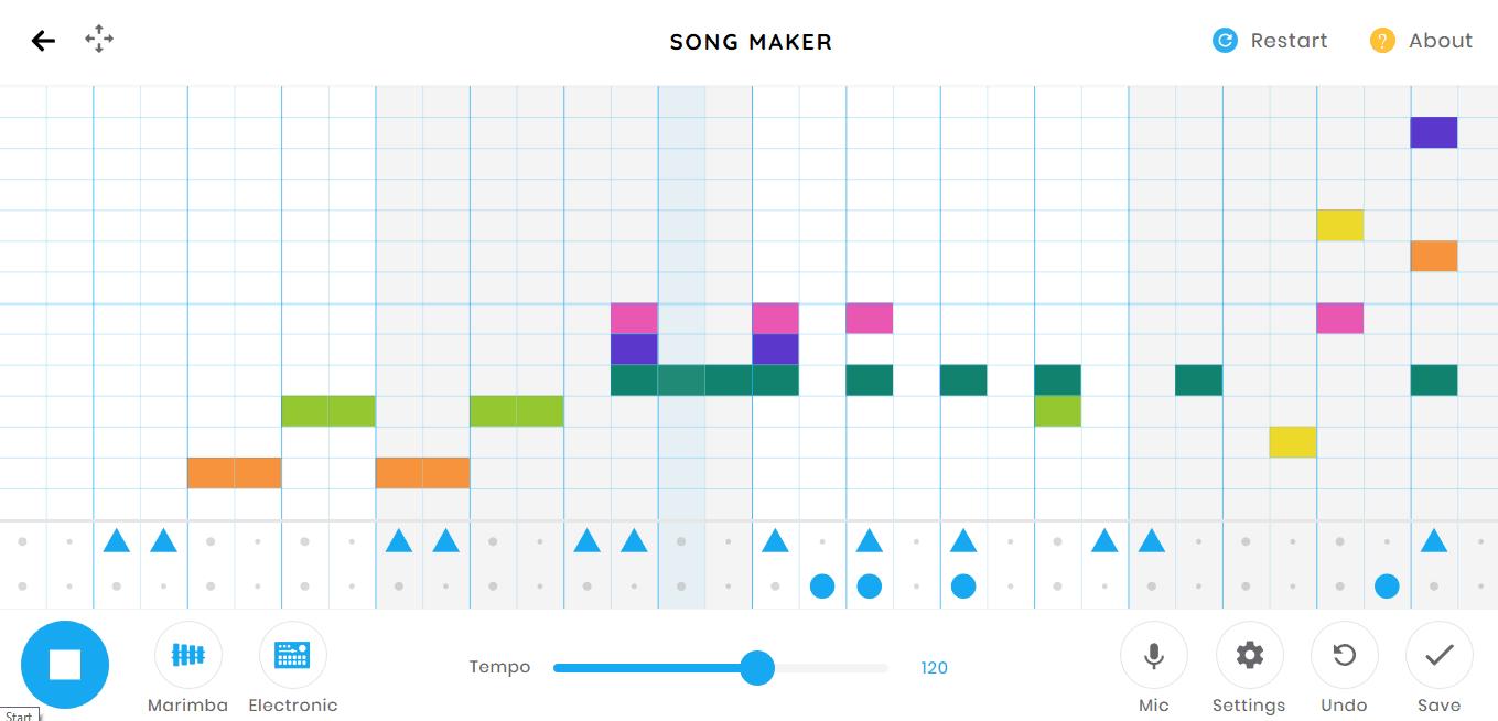 Song Maker music game online