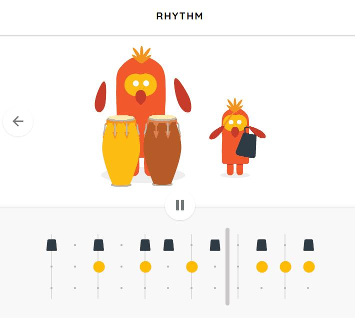 Rhythm music game online
