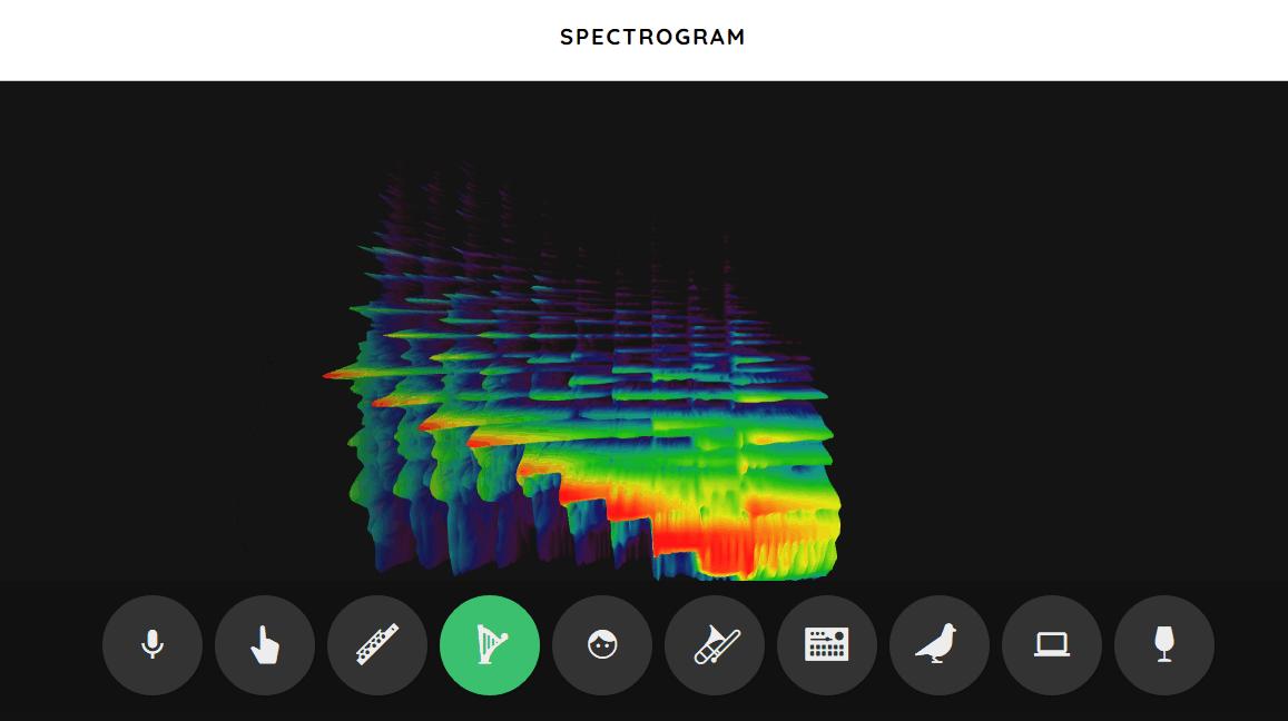 Spectogram music game online