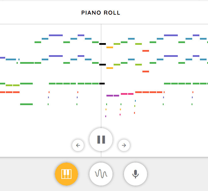 Piano Roll music game online