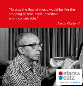 Aaron Copland Music Quote