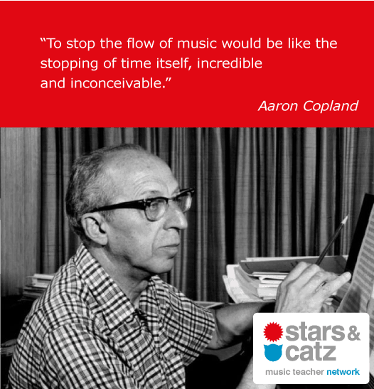 Aaron Copland Music Quote 2 Image