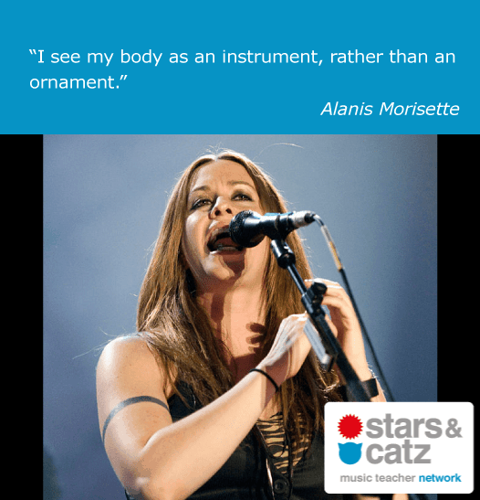 Alanis Morisette Music Quote