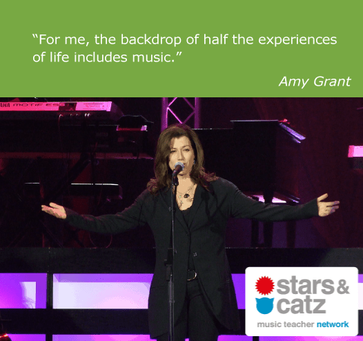 Amy Grant Music Quote