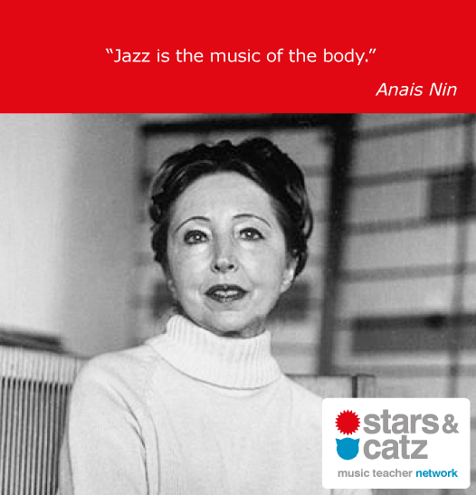 Anais Nin Music Quote