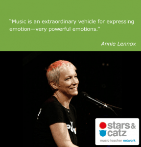 Annie Lennox Music Quote