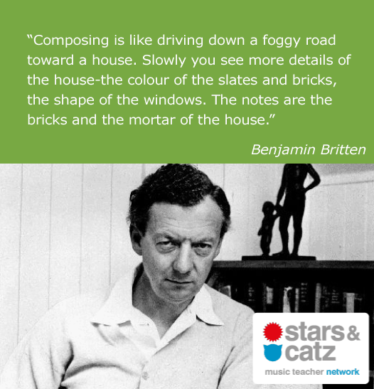 Benjamin Britten Music Quote