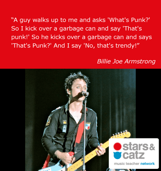 Billie Joe Armstrong Music Quote
