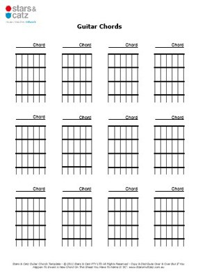 13 Blank Music Sheets Printable Templates Stars Catz