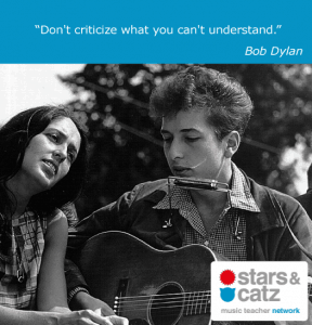 Bob Dylan Music Quote