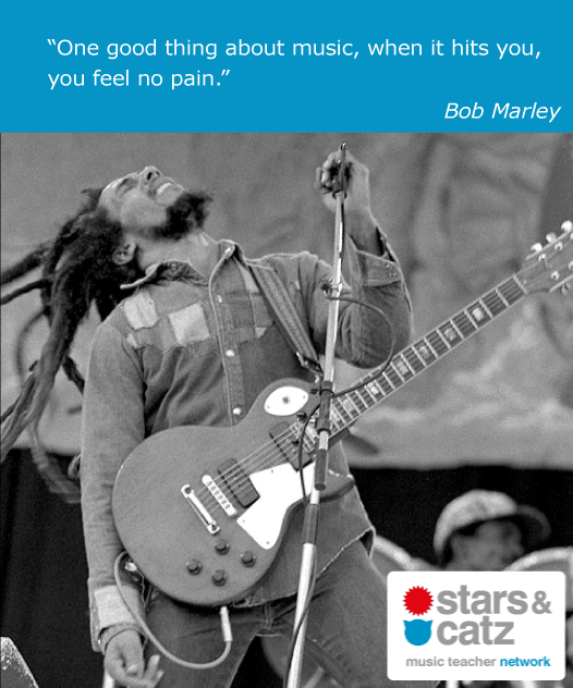 Bob Marley Music Quote 2