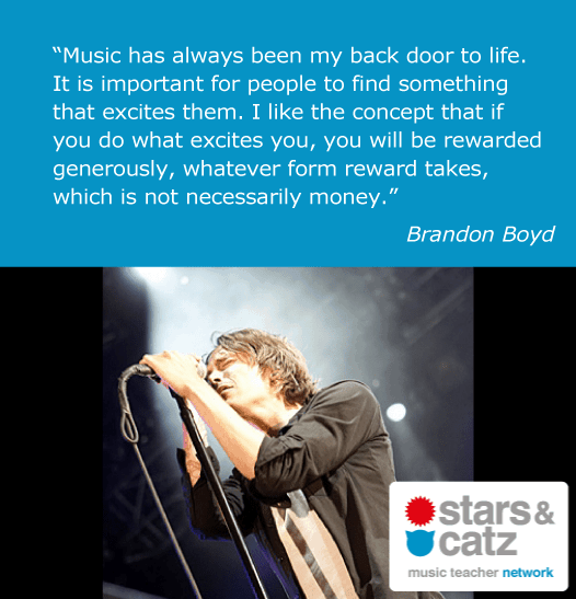 Brandon Boyd Music Quote