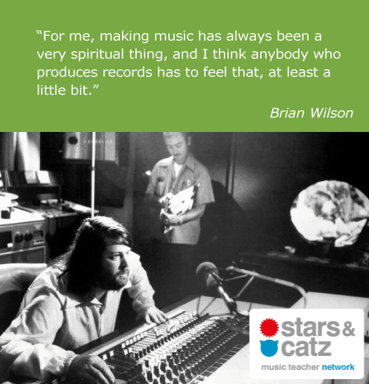 Brian Wilson Music Quote