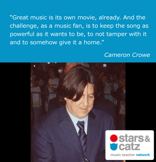 Cameron Crowe Music Quote