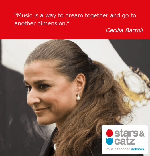 Cecilia Bartoli Music Quote