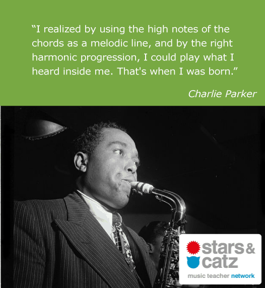 Charlie Parker Music Quote 3