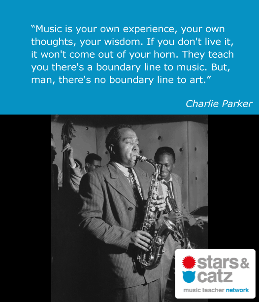Charlie Parker Music Quote