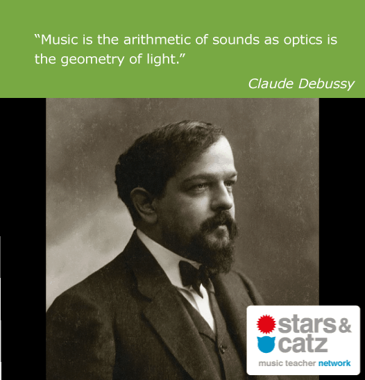 Claude Debussy Music Quote