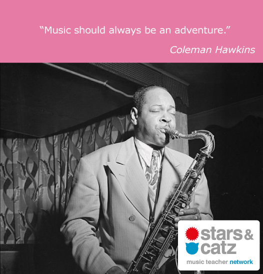 Coleman Hawkins Music Quote
