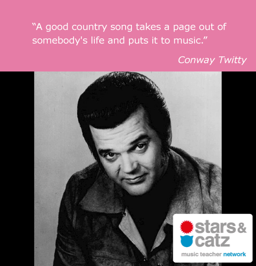 Conway Twitty Music Quote