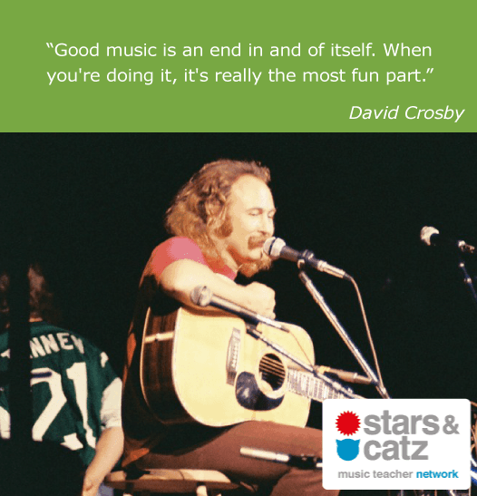 David Crosby Music Quote