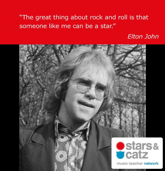 Elton John Music Quote