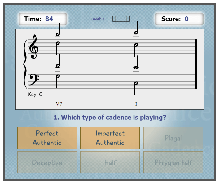 Flash Cadence music game online