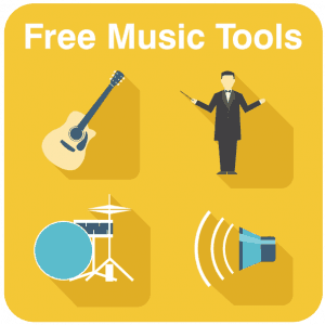 Free music tools and resources banner