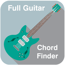 Guitar chord finder image