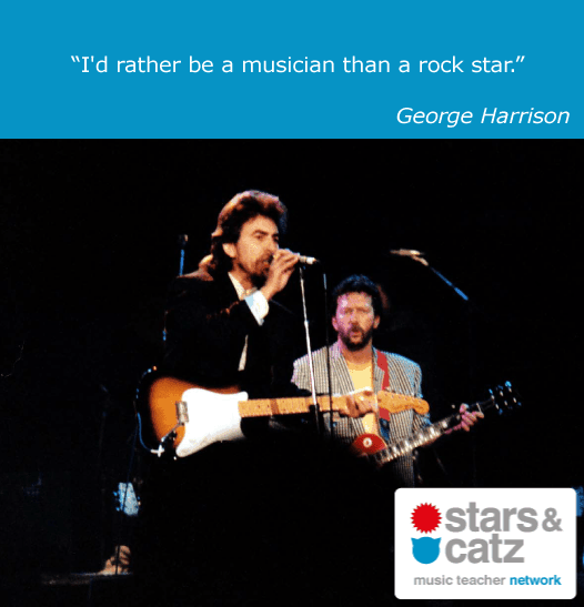 George Harrison Music Quote