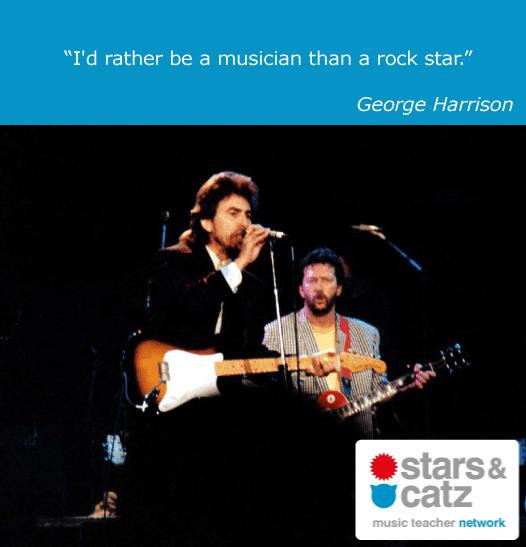 George Harrison Music Quote