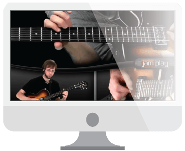Video guitar courses display image from Jamplay