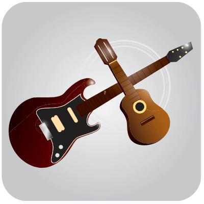 Ukulele and guitar chord finder banner