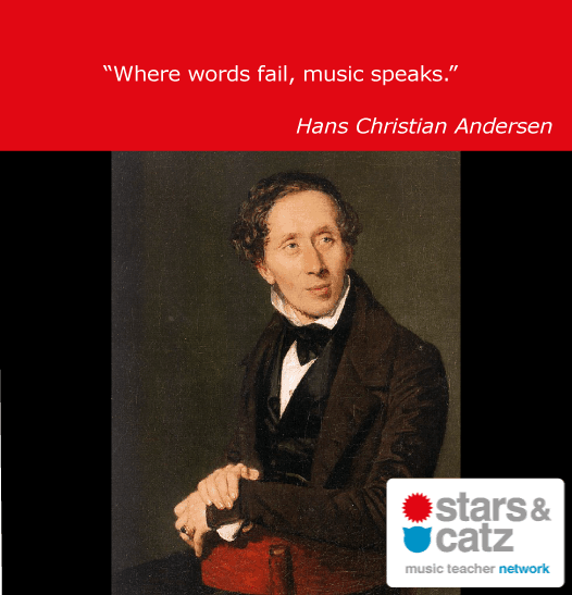 Hans Christian Andersen Music Quote