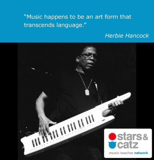Herbie Hancock Music Quote