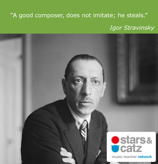 Igor Stravinsky Music Quote