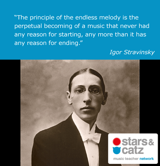 Igor Stravinsky Music Quote 3 Image
