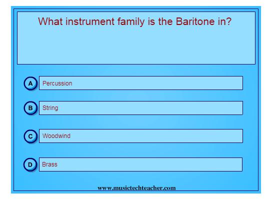Instrument Soccer Quiz music game online