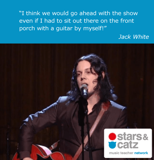 Jack White Music Quote