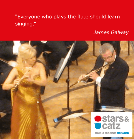 James Galway Music Quote Image
