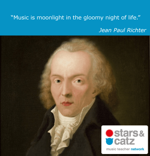 Jean Paul Richter Music Quote Image