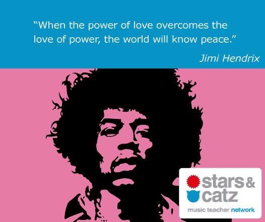 Jimmy Hendrix Music Quote 3
