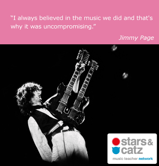 Jimmy Page Music Quote