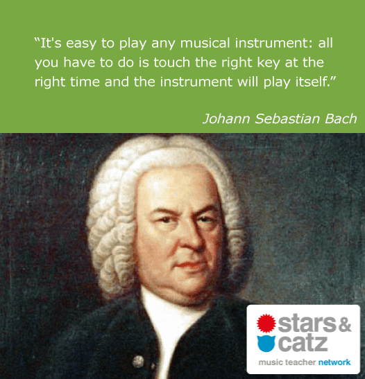 Johann Sebastian Bach Music Quote