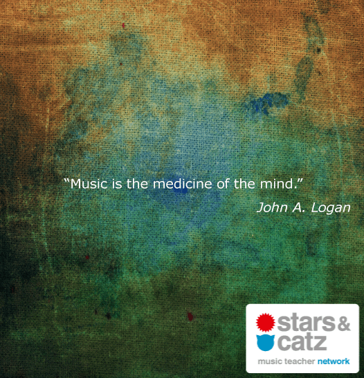 John A. Logan Music Quote Image