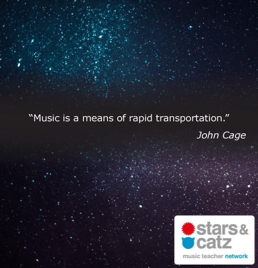 John Cage Music Quote 1 Image