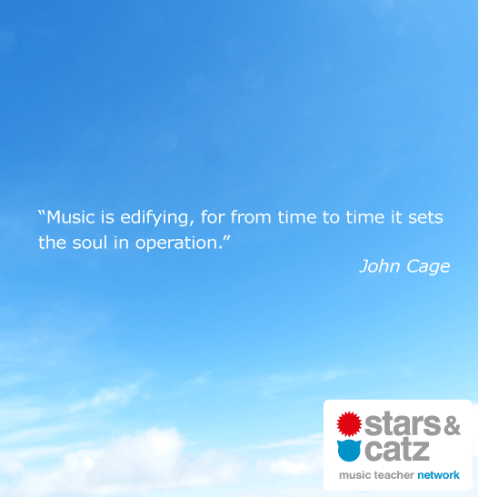 John Cage Music Quote 2 Image
