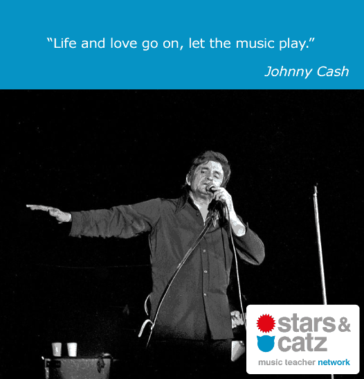 Johnny Cash Music Quote