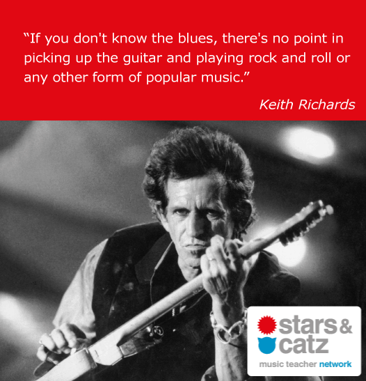 Keith Richards Music Quote