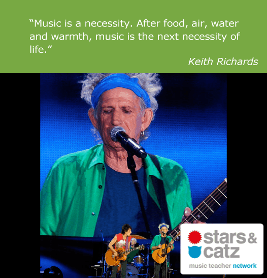 Keith Richards Music Quote 6